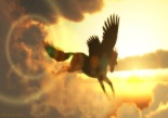 Pegasus-In-Sunny-Sky-Widescreen-Wallpaper - Copy