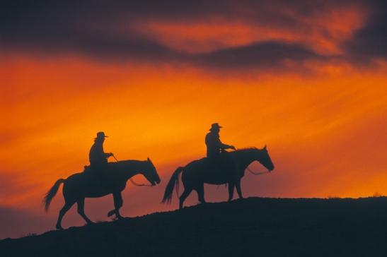 sunset_cowboys