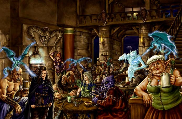 Pathfinder gambling games