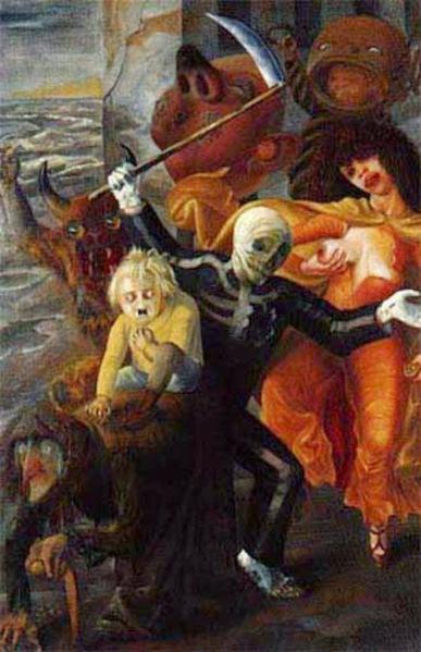 Los siete pecados capitales - Otto Dix - 1933