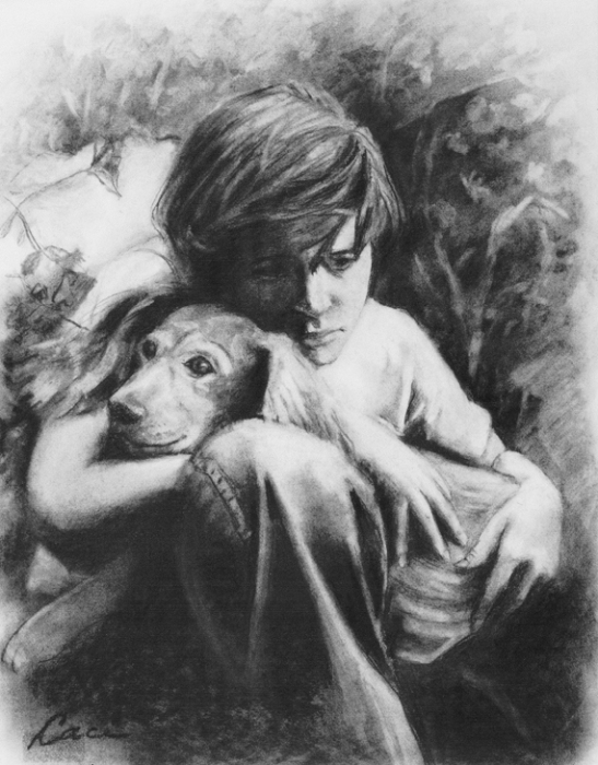 boy-and-dog-draw